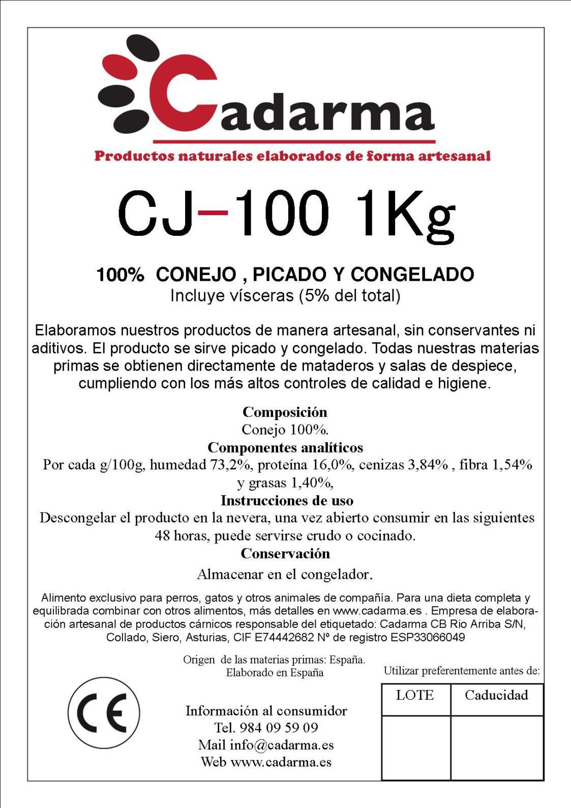 CJ-100 1kg