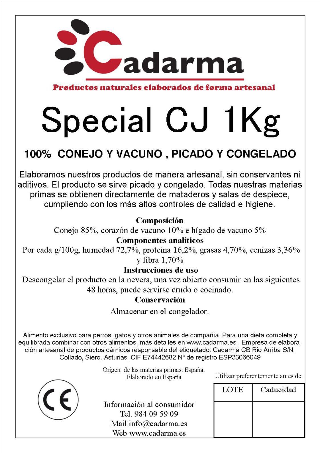 SPECIAL CJ 1kg
